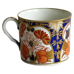 George Third Coalport John Rose Porcelain Coffee Can, circa 1810