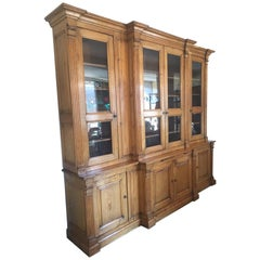 Early 20th Century French Oak Bibliotheque Bookcase, 1900s