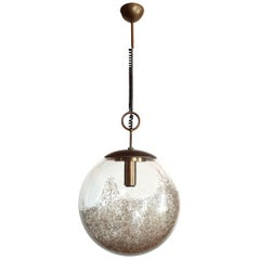 Mid-Century Modern Murano Glass Pendant Light by Carlo Nason for Mazzega