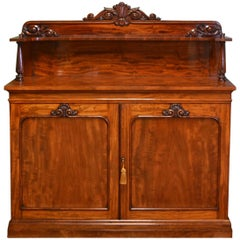 Superb Quality Gillows Figured Mahogany William IV Antique Chiffonier