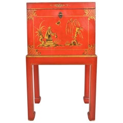 Chinoiserie Box on Stand