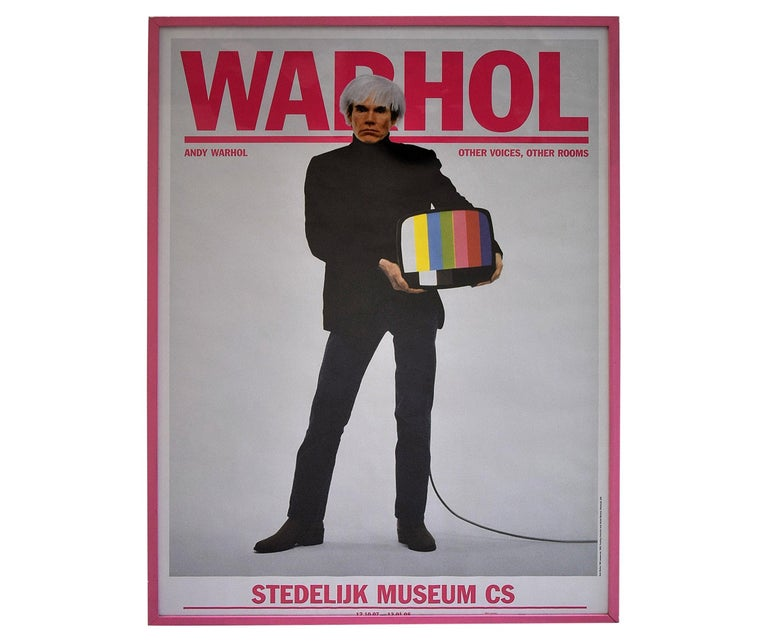 Andy Warhol Stedelijk Museum Amsterdam Poster, 2007 For Sale