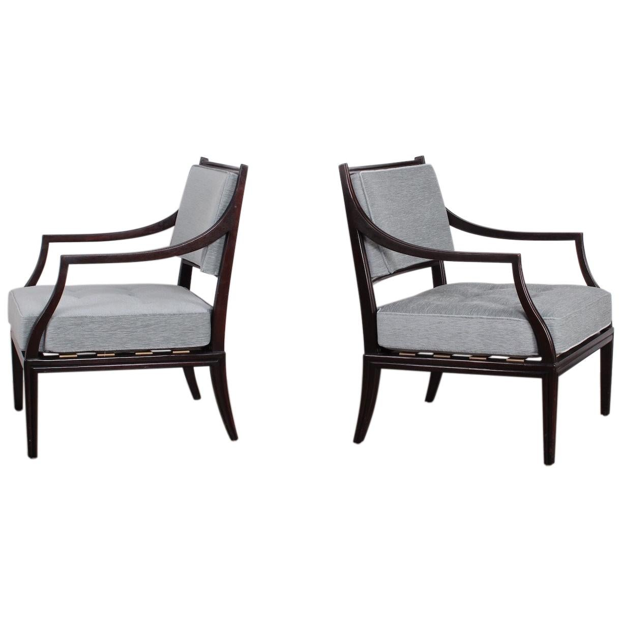 Pair of Dunbar Lounge Chairs