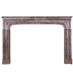 17th Century Timely Antique Fireplace Surround