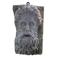 20th Century Wall Mask of Zeus
