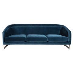 Bacharach Reef Velvet Sofa