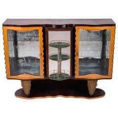 Art Deco Extraordinary Bar Cabinet by Pier Luigi Colli, 1930