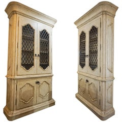 Pair of French Contemporary Armoires