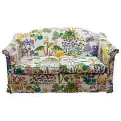 Floral and Nature Patterned Sofa, Bench Designed by Gocken Jobs, Sweden