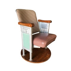 Grand Hollywood Art Deco Movie Theater Chair
