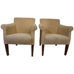 Pair of Walter Knoll Armchairs Chairs