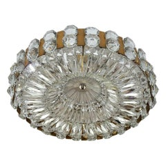 Wonderful Large Austrian Vintage Ceiling Light Chandelier, 1960s