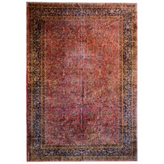 Gorgeous Early 20th Century Kashan Rug
