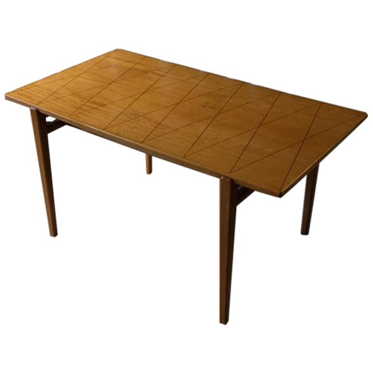 Carl-Axel Acking Coffee Table Produced by Bodafors, Sweden, 1950s