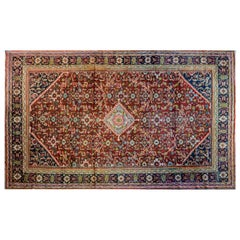 Fantastic Early 20th Century Mahal Rug