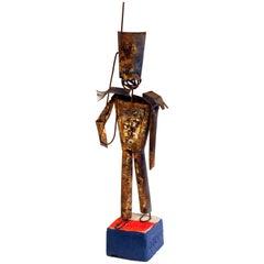 Italian Pottery Gli Etruschi Raymor Ivo De Santis Metal Tin Art Sculpture Figure
