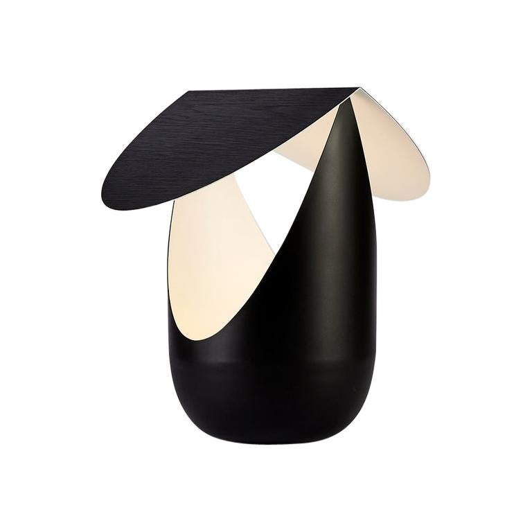Bounce Table Lamp in Black by Karl Zahn for Roll & Hill For Sale