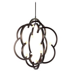 Blow Pendant in Bronze by Lindsey Adelman for Roll & Hill