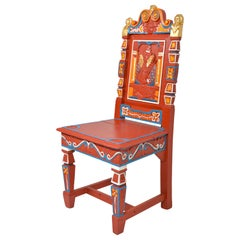 Set of Four Elizabethan Revival Side Chairs