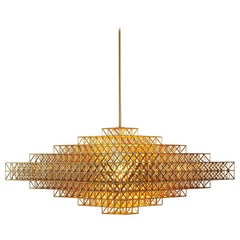 Gridlock Pendant 7440 by Philippe Malouin for Roll & Hill