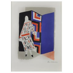 Sonia Delaunay Lithography