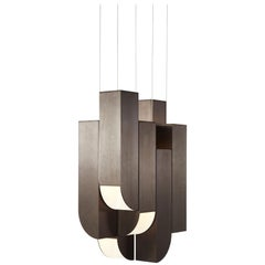 Cora 8 Lights in Bronze by Karl Zahn for Roll & Hill