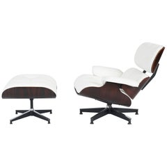 Early Rosewood Charles Eames Lounge Chair for Herman Miller