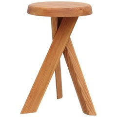 Pierre Chapo Stool S31B Elm Wood