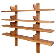 Pierre Chapo Elmwood Wall-Mounted Bookshelve