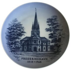 Royal Copenhagen Commemorative Plate from 1968 RC-CM321