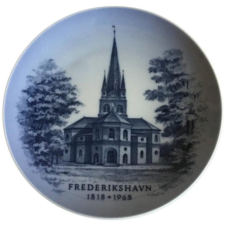 Royal Copenhagen Commemorative Plate from 1968 RC-CM321 For Sale