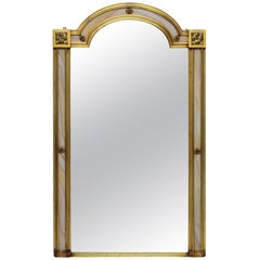 Venetian Giltwood Mirror with Marble Surround