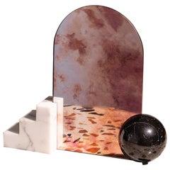 "Marble Countertop Mirror ""Staircase"""