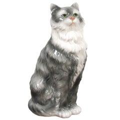 Capodimonte Large Siamese Cat