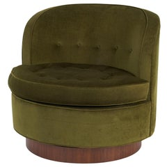 Dunbar Swivel Chair by Edward Wormley