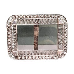 Early 20th Century Dutch Silver Picture Frame