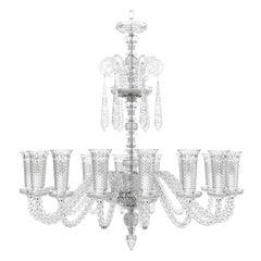 Diamante Neoclassical Handmade Crystal Chandelier III