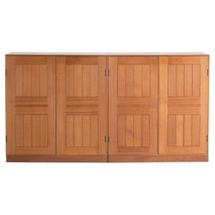 Mogens Koch Pair of Cabinets in Teak for Rud. Rasmussen