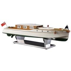 Bassett-Lowke Clockwork Model Boat, circa 1930s