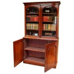 Mahogany Cabinet Bookcase