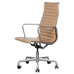 Eames Executive Office Chair in Cognac Leather for Herman Miller, USA