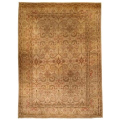 Antique Indian Amritsar Carpet 'Size Adjusted'