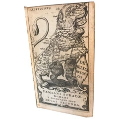 De Bello Belgico by Famiano Strada & Julius Cesar, First Edition, 1648