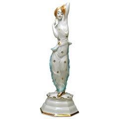 Rosenthal Germany Art Nouveau Figurine Lo Hesse, Holzer-Defanti made circa 1923