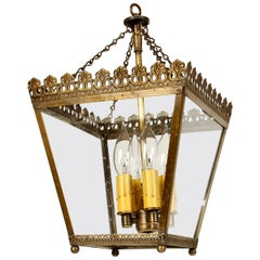 Custom European Brass Square Lantern