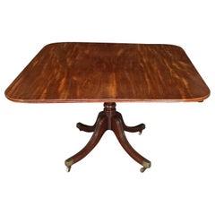 English Regency Mahogany Breakfast Table