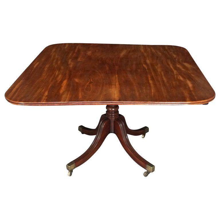 English Regency Mahogany Breakfast Table For Sale
