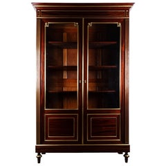 19th Century Mahogany French Bookcase