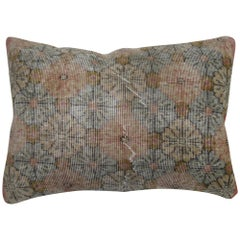 Large Turkish Deco Floor Rug Pillow
