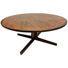 Danish Rosewood Coffee Table by Hans Christian Andersen, circa 1960s